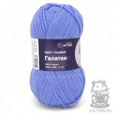 Пряжа Галатея (Астра), цвет Голубой