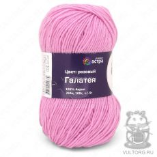 Пряжа Галатея (Астра), цвет Розовый