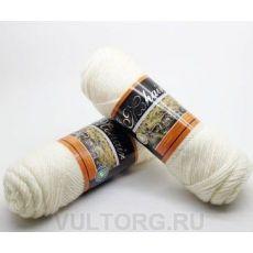 Пряжа БестВул, цвет № 01 (Белый)