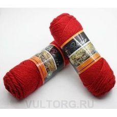 Пряжа БестВул, цвет № 06 (Красный)
