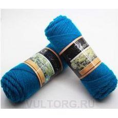 Пряжа БестВул, цвет № 07 (Голубая бирюза)
