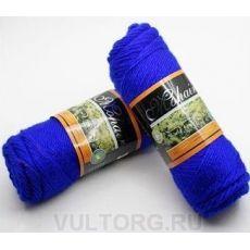 Пряжа БестВул, цвет № 08 (Ярко-синий)
