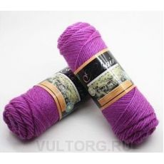 Пряжа Мохер-Альпака, цвет № 29 (Ярко-фиолетовый)