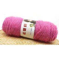 Пряжа Белочка, цвет № 16 (Ярко-розовый)