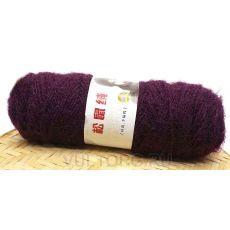 Пряжа Белочка, цвет № 18 (Темно-фиолетовый)