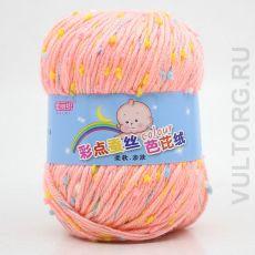 Пряжа Детская Цветной горошек, цвет № 05 (Пастель)