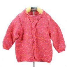 Пряжа Детская Цветной горошек, цвет № 07-А (Розовый)