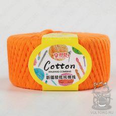 Пряжа Детский Хлопок нежный 125, цвет № 08 (Оранжевый)