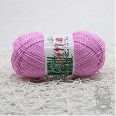 Пряжа Хлопок с бамбуком, цвет № 005 (Светло-фиолетовый)