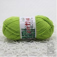 Пряжа Хлопок с бамбуком, цвет № 011 (Молодая трава)