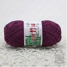 Пряжа Хлопок с бамбуком, цвет № 022 (Фиолетовый)