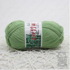 Пряжа Хлопок с бамбуком, цвет № 024 (Пыльная мята)