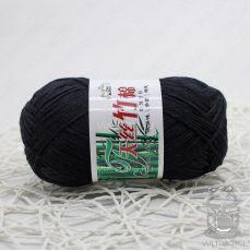 Пряжа Хлопок с бамбуком, цвет № 026 (Черный)
