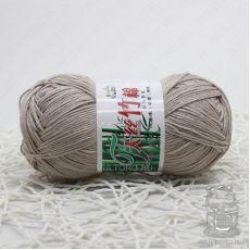 Пряжа Хлопок с бамбуком, цвет № 500 (Серо-бежевый)
