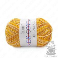 Пряжа Милк Коттон Принт Софт, цвет № 39 (Пески Сахары)