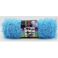 Пряжа Пух Феникса, цвет № 35 (Голубоая бирюза)