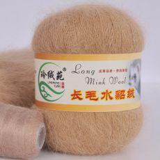 Пряжа Пух норки, цвет № 003 (Светло-коричневый)