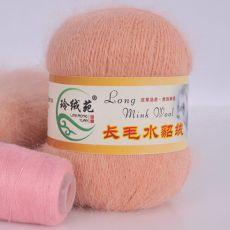 Пряжа Пух норки, цвет № 005 (Персиковый)