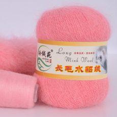Пряжа Пух норки, цвет № 013 (Розовый)