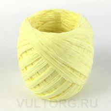 Пряжа Рафия бумажная, цвет № G17 (Желтый птенец)