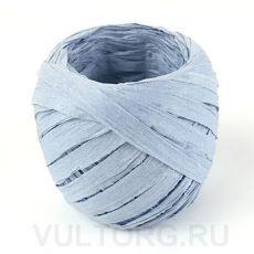 Пряжа Рафия бумажная, цвет № G4 (Пепельно-голубой)