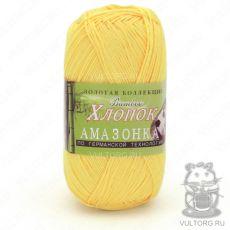 Пряжа Color City Амазонка, цвет № 116 (Желтый)