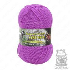 Пряжа Каракульская овечка Color City, цвет № 218 (Ярко-розовый)