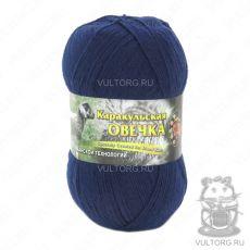 Пряжа Каракульская овечка Color City, цвет № 2309 (Темно-синий)