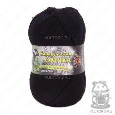 Пряжа Color City Каракульская овечка, цвет № 2622 (Черный)