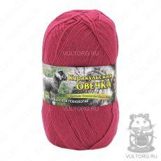 Пряжа Каракульская овечка Color City, цвет № 2803 (Брусника)
