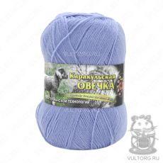 Пряжа Каракульская овечка Color City, цвет № 300 (Голубой)