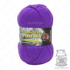 Пряжа Каракульская овечка Color City, цвет № 305 (Лиловый)