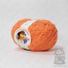 Пряжа Color City Кузя Клубочкин, цвет № 15 (Оранжевый)