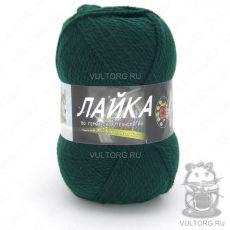 Пряжа Лайка Color City, цвет № 2427 (Темно-бутылочная зелень)