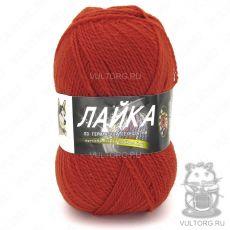 Пряжа Color City Лайка, цвет № 2523 (Красный терракот)