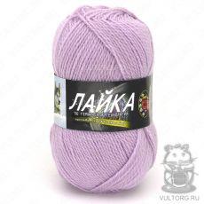 Пряжа Color City Лайка, цвет № 258 (Светло-сиреневый)