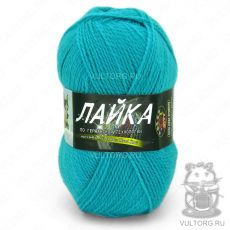 Пряжа Лайка Color City, цвет № 318 (Бирюзовый)