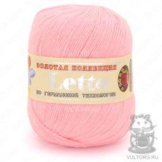 Пряжа Летто Color City, цвет № 005 (Светло-розовый)
