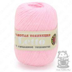 Пряжа Летто Color City, цвет № 022 (Бледно-розовый)