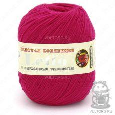 Пряжа Летто Color City, цвет № 030 (Розово-красный)