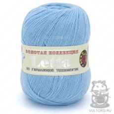 Пряжа Летто Color City, цвет № 033 (Бирюзово-голубой)