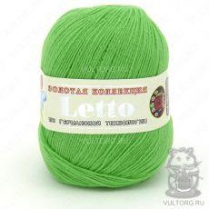 Пряжа Летто Color City, цвет № 024 (Зелёный)