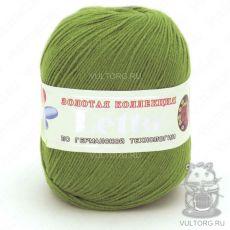 Пряжа Летто Color City, цвет № 023 (Молодая зелень)