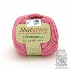 Пряжа Cottonwood Fibra Natura, цвет № 41109 (Розовый)