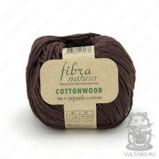 Пряжа Fibra Natura Cottonwood, цвет № 41131 (Коричневый)