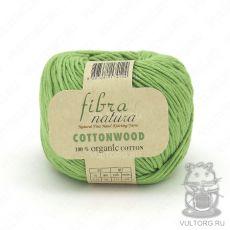 Пряжа Fibra Natura Cottonwood, цвет № 41143 (Салатовый)