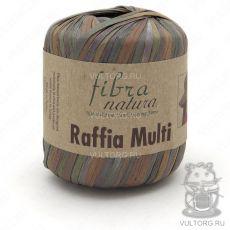 Пряжа Fibra Natura Raffia Multi, цвет № 117-03