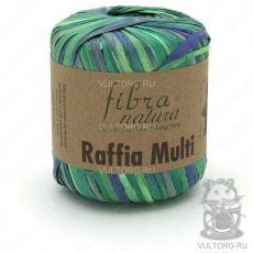 Пряжа Fibra Natura Raffia Multi, цвет № 117-05