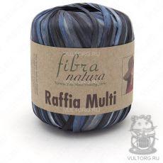 Пряжа Fibra Natura Raffia Multi, цвет № 117-07
