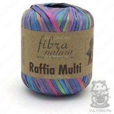 Пряжа Fibra Natura Raffia Multi, цвет № 117-12